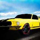 1967 Mustang GT500 by ChasSinklier