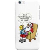 PSYCHO SANTA iPhone Case/Skin