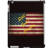 Still God's Country American Flag  iPad Case/Skin