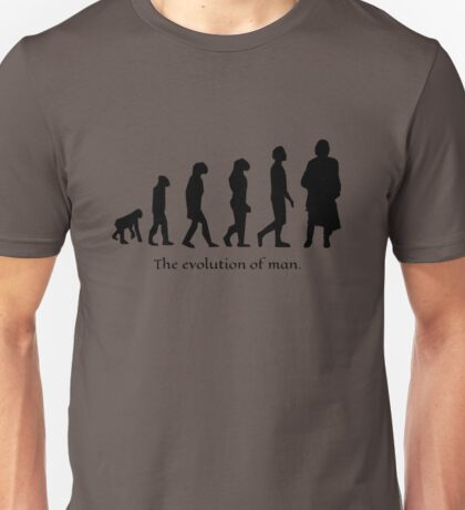 The evolution of man/ To Jamie Fraser Unisex T-Shirt