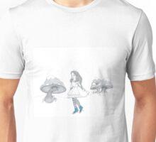 Alice loves her chucks Unisex T-Shirt