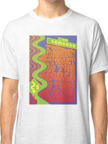 1960's Psychedelic San Francisco Crookedest Street Classic T-Shirt