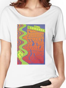 1960's Psychedelic San Francisco Crookedest Street Women's Relaxed Fit T-Shirt