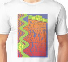 1960's Psychedelic San Francisco Crookedest Street Unisex T-Shirt
