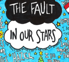 The Fault in Our Stars Collage Sticker