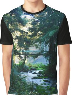 New Zealand Forest Graphic T-Shirt
