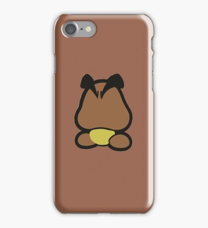 Goomba minimalist iPhone Case/Skin