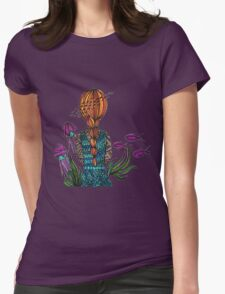 Underwater Womens Fitted T-Shirt