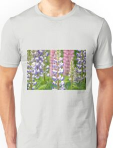 Lovely Lupines Unisex T-Shirt