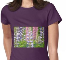 Lovely Lupines Womens Fitted T-Shirt