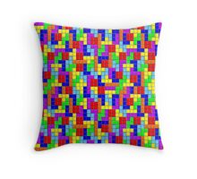 Tetris Throw Pillow