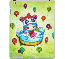 Panda Donut Girl iPad Case/Skin
