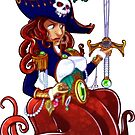 Piratical Octopus by JadeGordon