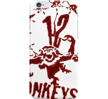 12 Monos (Twelve Monkeys) iPhone Case/Skin