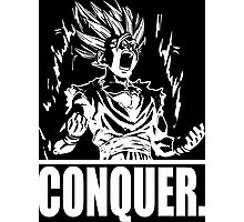 CONQUER (Teen Gohan) Photographic Print