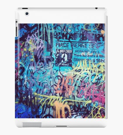 GRAFFITI WRITINGS iPad Case/Skin