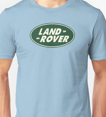 Classic Land Rover Logo Unisex T-Shirt