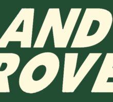Classic Land Rover Logo Sticker