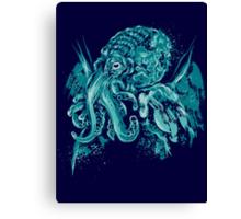 A god beyond the Sea Canvas Print