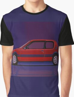 Peugeot 205 GTI Painting Graphic T-Shirt