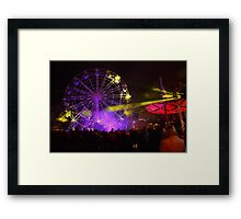 Dark MOFO, Ferris Wheel #2 Framed Print