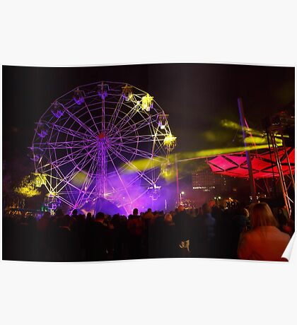 Dark MOFO, Ferris Wheel #2 Poster