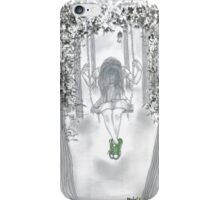 Swinging with Chucks iPhone Case/Skin