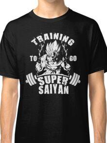 Training To Go Super Saiyan (Goku) Classic T-Shirt