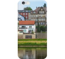 Elbe Town, Morning iPhone Case/Skin