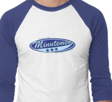 Baseball Team Minutemen Men's Baseball ¾ T-Shirt