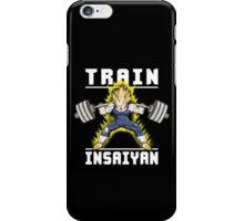 TRAIN INSAIYAN (Vegeta Squat) iPhone Case/Skin
