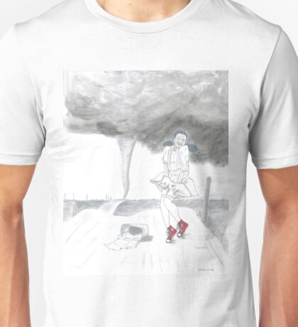 Dorothy loves her Chucks Unisex T-Shirt