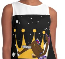 Unbothered Queen Contrast Tank