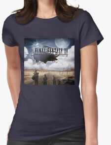 FINAL FANTASY XV JOURNEY Womens Fitted T-Shirt