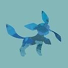 Leafy Glaceon by WithABlackTail
