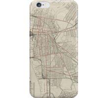 Vintage Map of Camden NJ (1921) iPhone Case/Skin