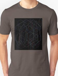hexagon art Unisex T-Shirt