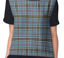 Super Cute Totally Unofficial Printmaker-Plaid Scottish-Inspired Dress Tartan Leggings Chiffon Top