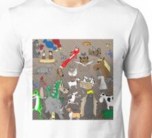 Out to Lunch Animals Collection Unisex T-Shirt