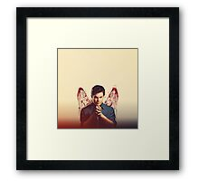 Dexter plain Framed Print