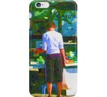 RainbowConfetti Farmers Market Shopper iPhone Case/Skin