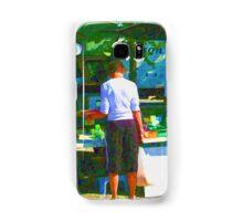 RainbowConfetti Farmers Market Shopper Samsung Galaxy Case/Skin