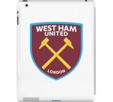 West Ham United Badge iPad Case/Skin