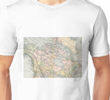 Vintage Map of Canada (1892) Unisex T-Shirt