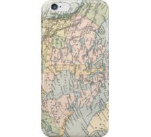 Vintage Map of Canada (1892) iPhone Case/Skin