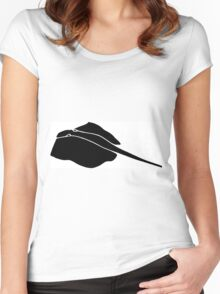 Lay Ray  Women's Fitted Scoop T-Shirt
