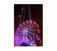 Dark MOFO, Ferris Wheel Art Print