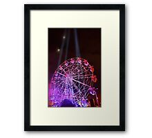 Dark MOFO, Ferris Wheel Framed Print