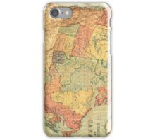 Vintage Map of Canada (1898) iPhone Case/Skin