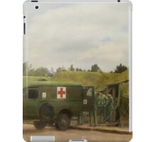 Doctor - 1942 - Camp Sibert - Transferring the patient iPad Case/Skin